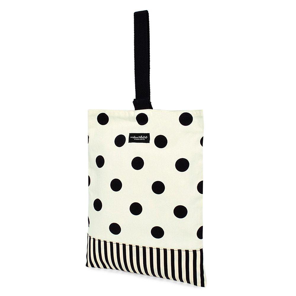decor PolkaDot シューズケース リバーシブル polka dot large xnarrow stripe_1