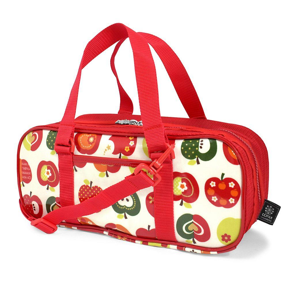 画材・絵の具バッグ おしゃれリンゴのひみつ(アイボリー)_1