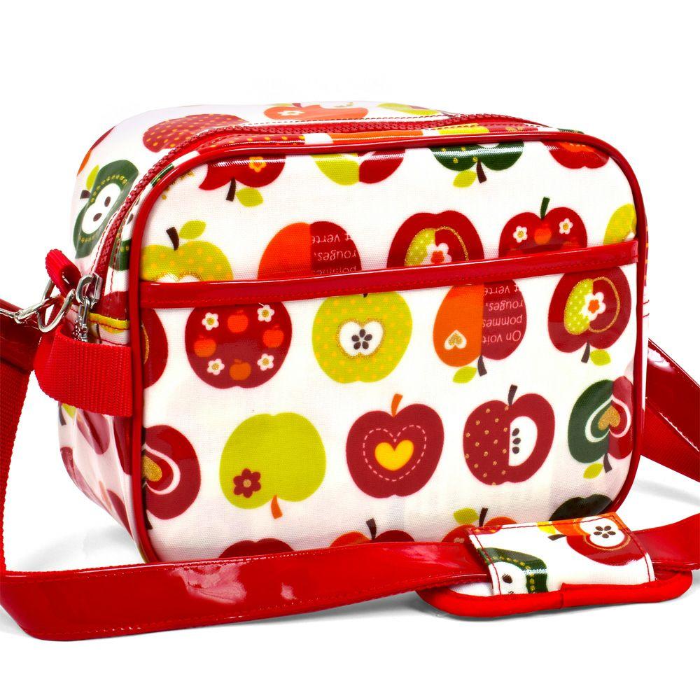 通園バッグ おしゃれリンゴのひみつ(アイボリー)_1