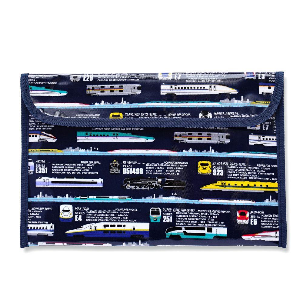 連絡袋(B5サイズ) 出発進行スーパーエクスプレス※JR東日本商品化許諾済/JR東海承認済/JR西日本商品化許諾済_1