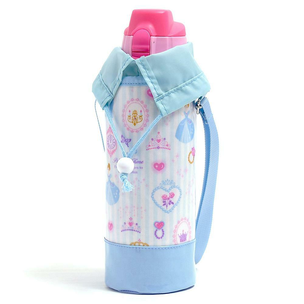 水筒カバー ラージタイプ プリンセスドレスで彩るパウダールーム(ストライプ)_1