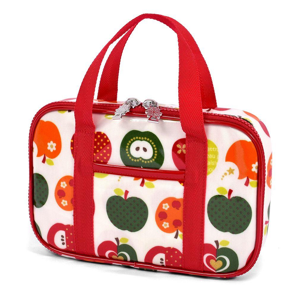 裁縫・ソーイングバッグ おしゃれリンゴのひみつ(アイボリー)_1