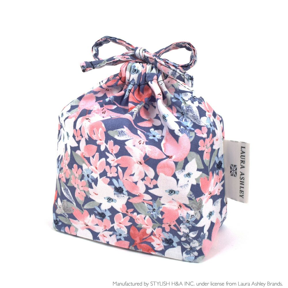 LAURA ASHLEY 巾着 小 コップ袋 Floret_1