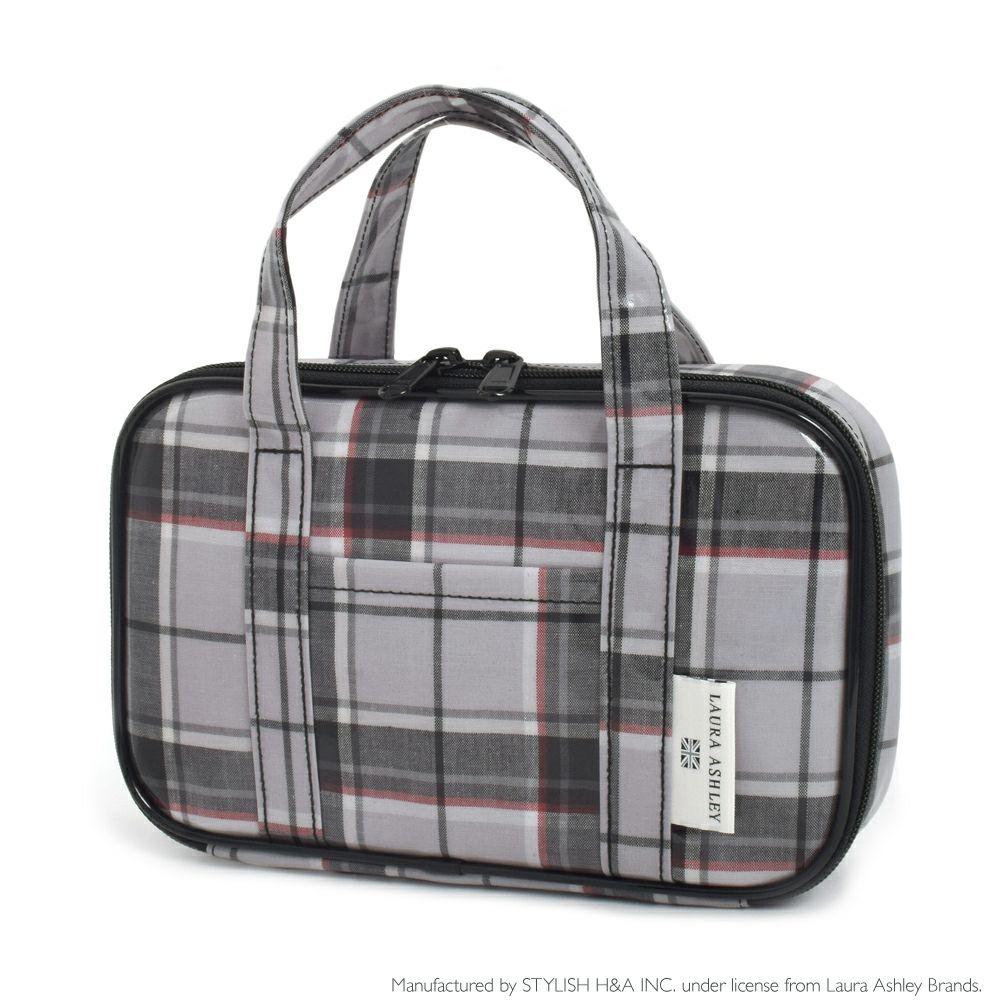 LAURA ASHLEY 裁縫・ソーイングバッグ(ミササ製 裁縫セット付き) Highland check_1