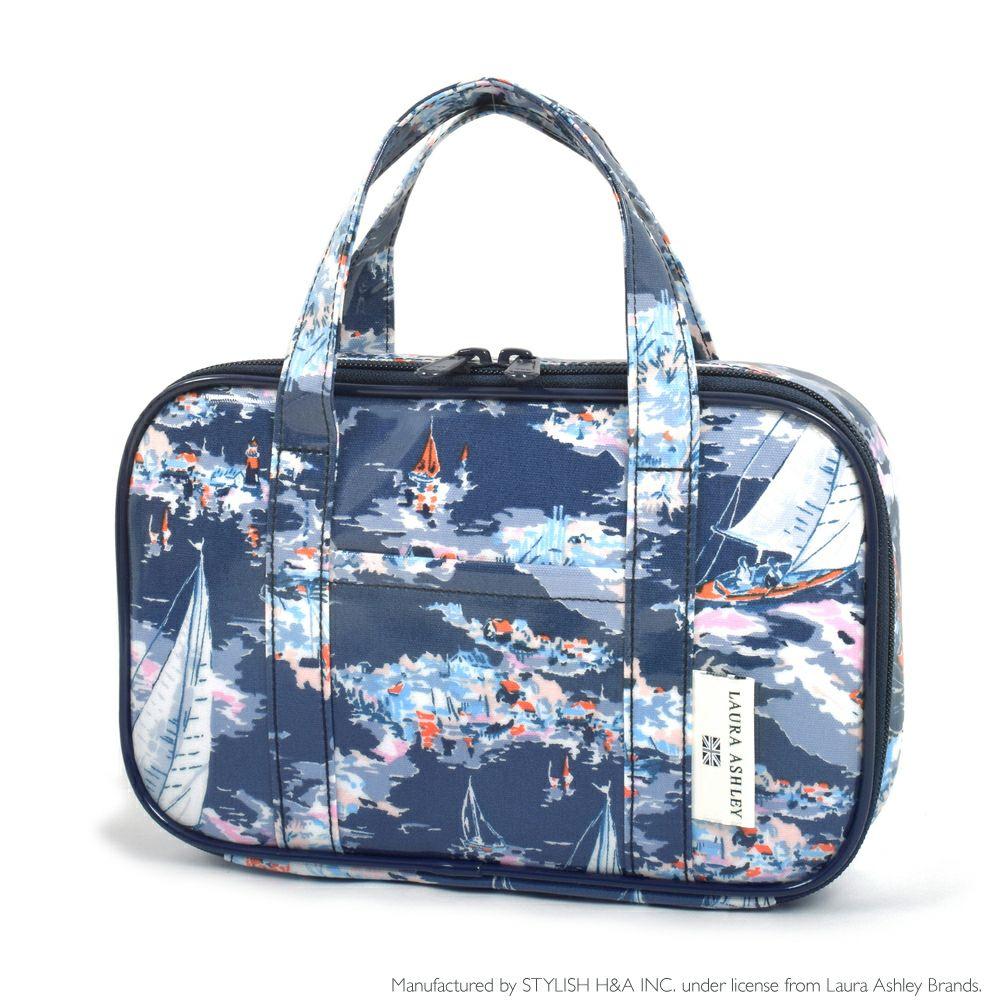 LAURA ASHLEY 裁縫・ソーイングバッグ(ミササ製 裁縫セット付き) Riviera_1