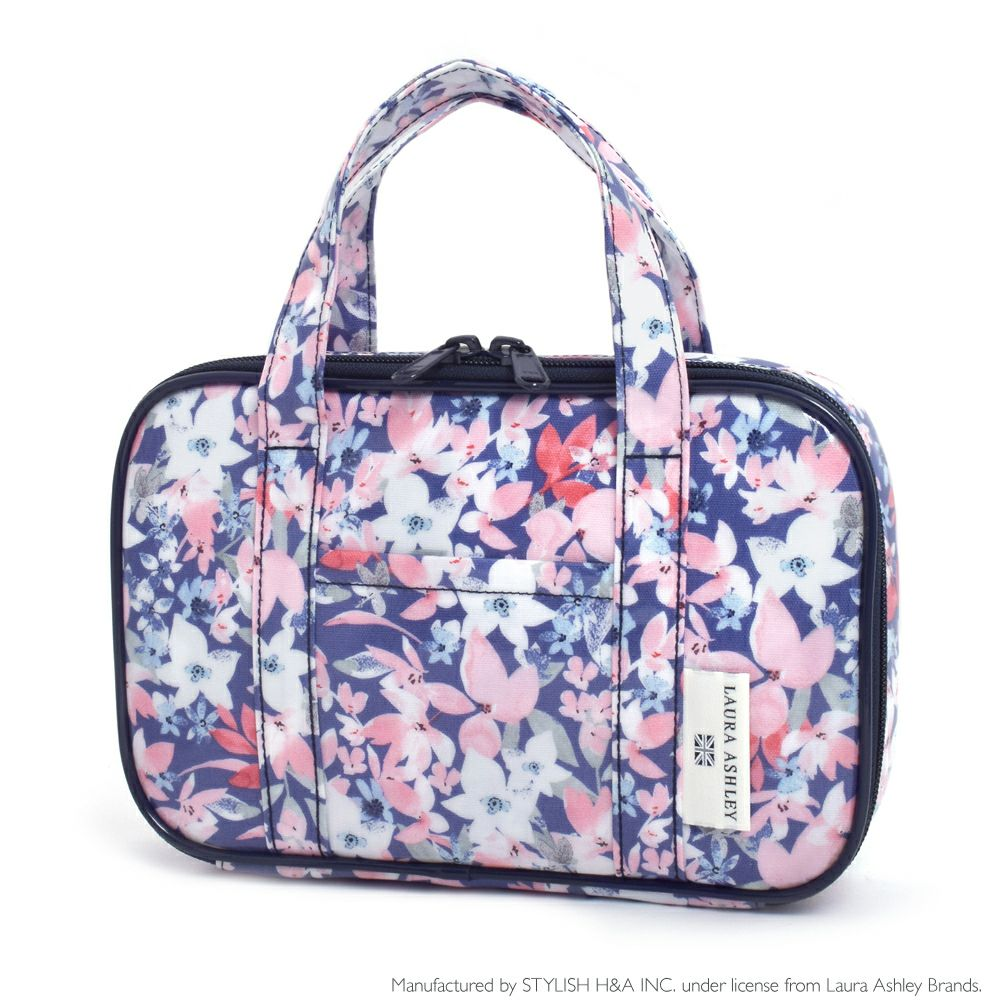 LAURA ASHLEY 裁縫・ソーイングバッグ(ミササ製 裁縫セット付き) Floret_1
